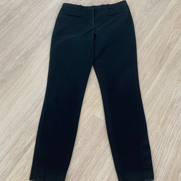 Hugo Boss Black Fitted Pants size 10